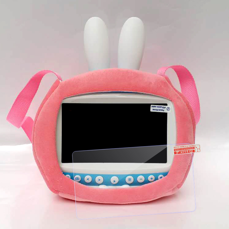 Pink bag + tempered glass film  rabbit