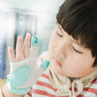 宝宝防吃手神器儿童防咬手指甲小孩防吃手手套大拇指婴儿戒吃手指