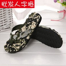 Slippers wholesale flip flops camouflage casual slippers summer massage beach shoes flip flops slippers wholesale flip flops
