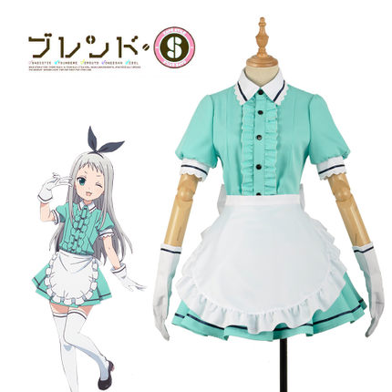 42agent [customized] training cafe Kanzaki Rizhao maid costume cosplay costume large size - tmall.com Tmall