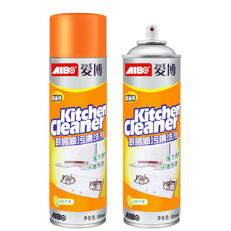 拍一发二厨房油污清洁剂油烟机强力清除油渍