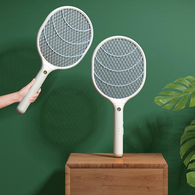 鼎能电蚊拍充电式家用超强二合一强力驱蚊电蝇打苍蝇电子灭蚊子拍