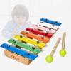 可来赛儿童早教益智小木琴八音手敲琴发声婴幼儿宝宝1--3岁乐玩具