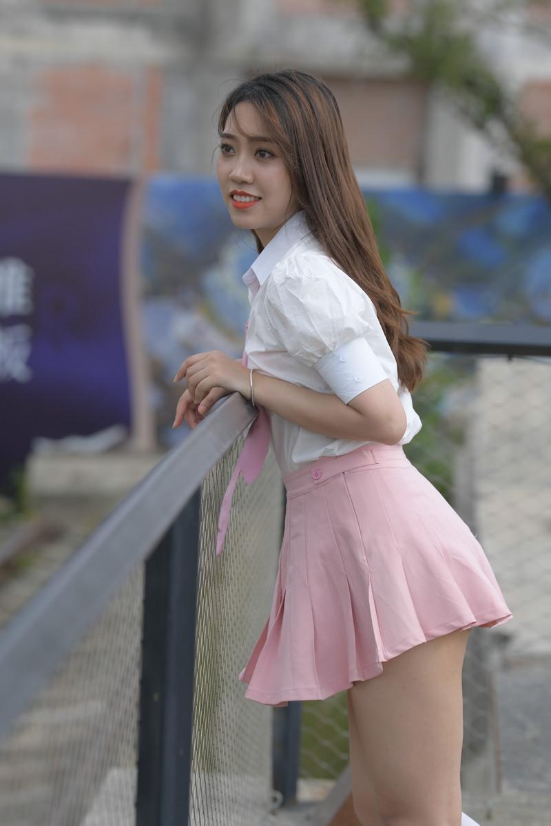 一筒街拍作品粉红色的叮咛【套图+视频】 69456945 帖子ID:806