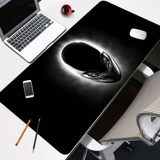Oversized black tide mouse pad thickening game gaming computer office desk writing pad keyboard mouse pad