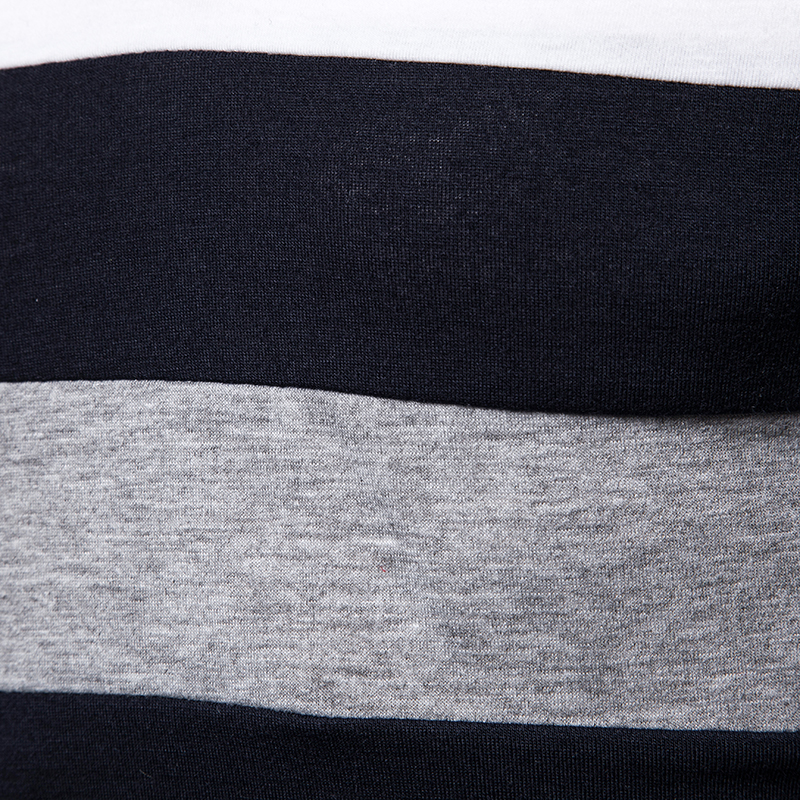 O1CN01DPmkLG1cmzogAr924 !!282993644 Men's POLO Tri-Color Sweatshirt
