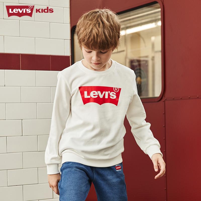 Levi's 李维斯 男童圆领卫衣 天猫优惠券折后¥119包邮(¥219-100)90~130cm码3色可选