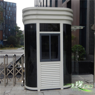 New steel structure guard post, guard post, security post, stainless steel post, mobile post, factory direct sales