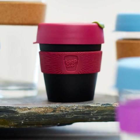 顺丰包邮 澳洲进口KEEPCUP咖啡随行杯情侣杯防洒盖水杯运动杯子