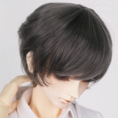 taobao agent Spot CROBI CRWML-28 three-point small head circumference bjd baby with wig ring juice