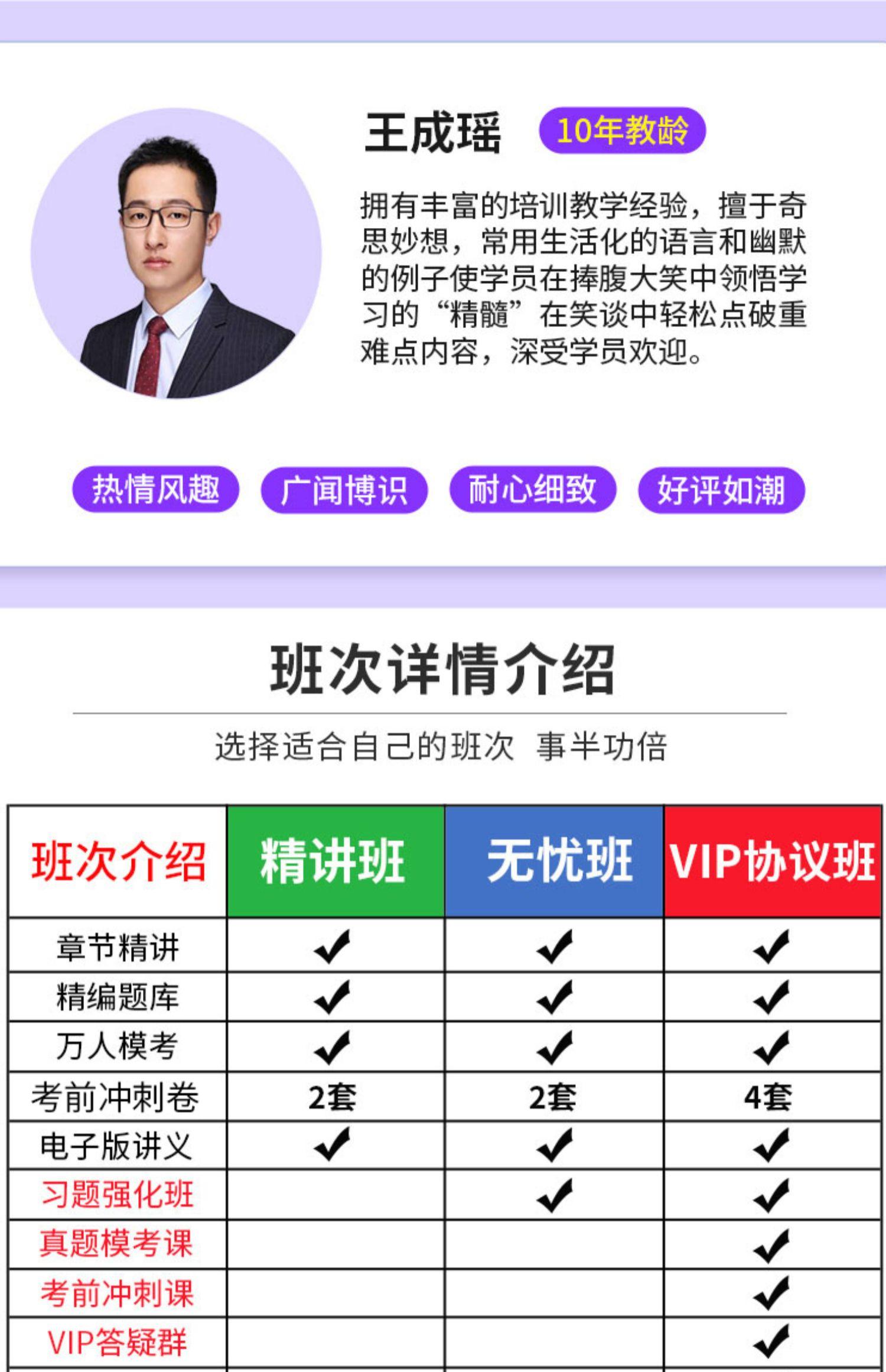 【拼团价】小霞2020年中级会计vip协议班商品详情图