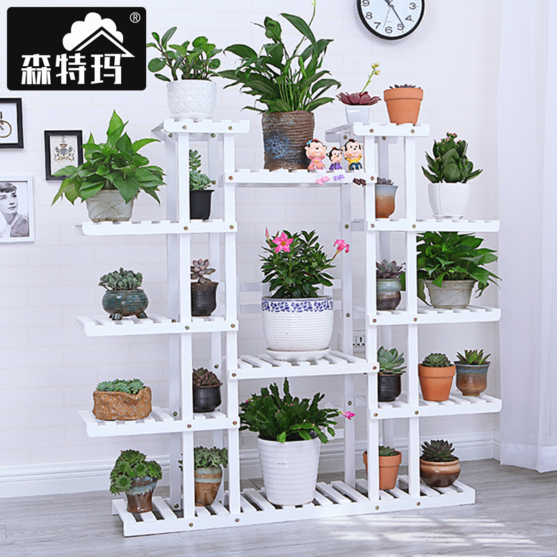 Usd 10646 white flower rack special multi storey floor type racks white flower rack special multi storey floor type racks living room solid wood indoor mightylinksfo