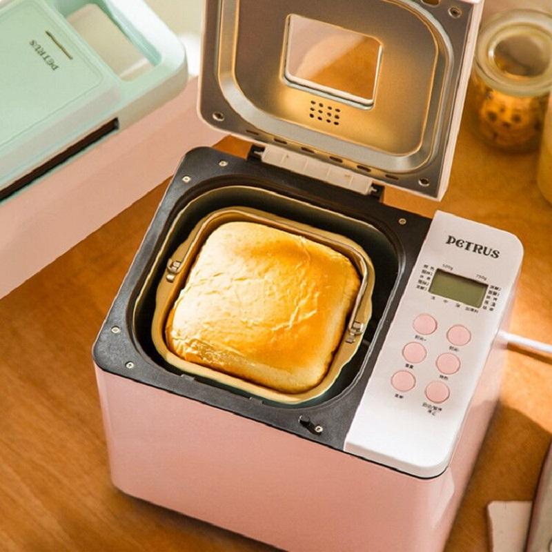 柏翠懒人双管蛋糕和面多功能早餐机家用全自动面包机揉面机PE6600