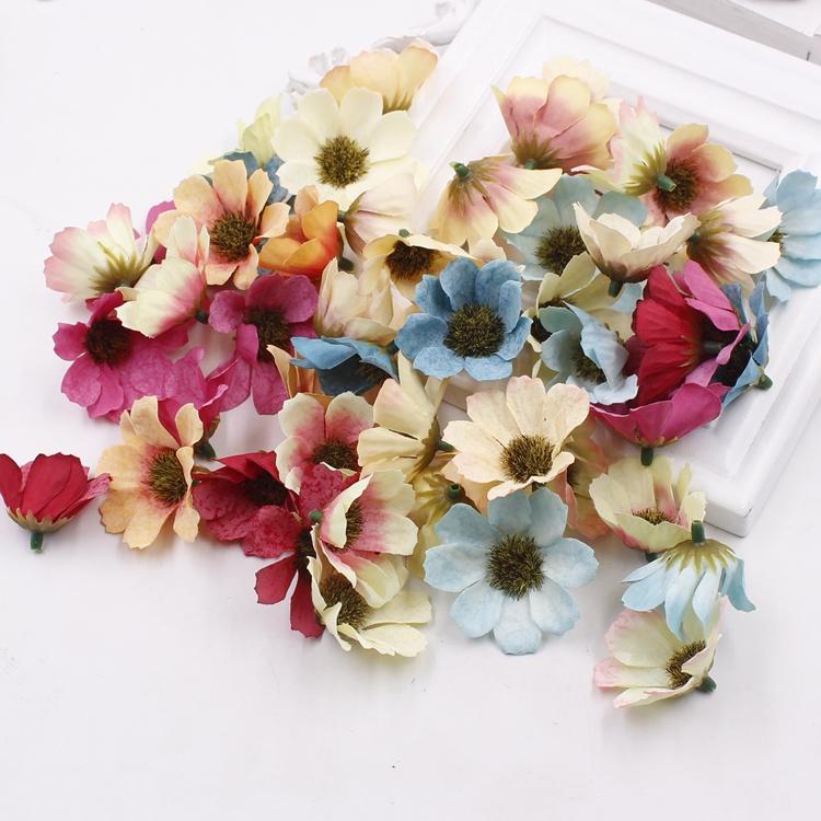 USD 3.98] DIY handmade Sen female simulation Daisy Daisy fake flower ...