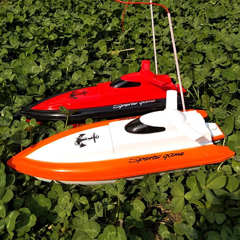 Remote control boat toy speed boat children electric boy toy boat water  boat model yacht racing boat net