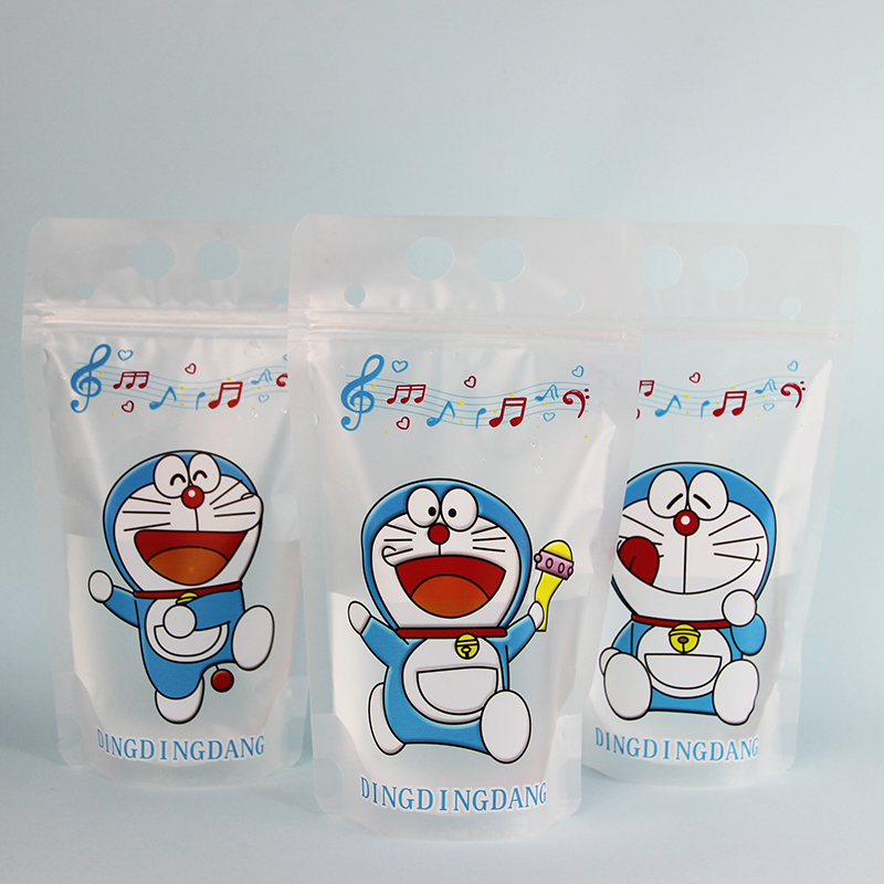 Doraemon three pictures printing matte