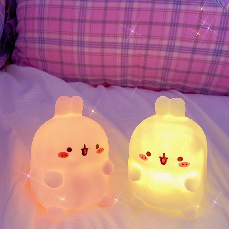 创意礼品送同学生日小礼物女生男朋友毕业闺蜜兔子卡通小夜灯实用
