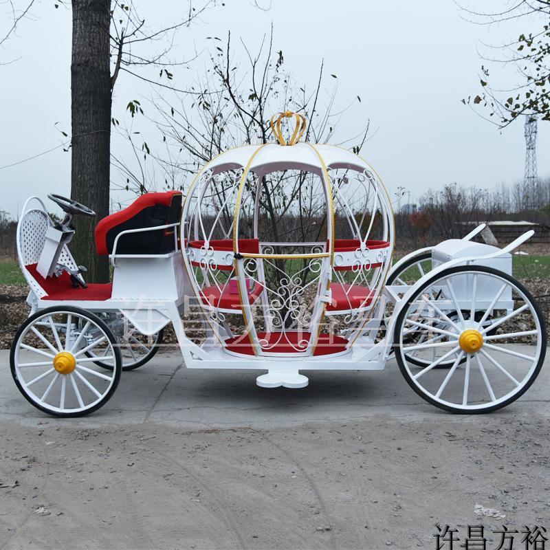 Сделанный на заказ электрический тыква перевозка свадьба королевский перевозка вид площадь дом земля свойство рождество тыква перевозка поддержка