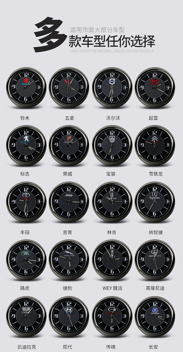 Đồng hồ trang trí tiện ích xe Peugeot 3008 và 5008 - ảnh 4