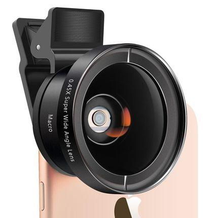 手机镜头单反超广角微距鱼眼三合一套装