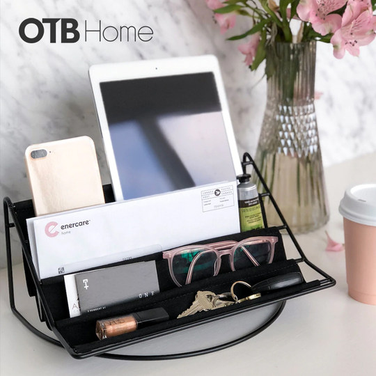 UMBRA porch tea several arteries key remote control storage box living room bedside cabinet desktop hypophoretic cosmetics