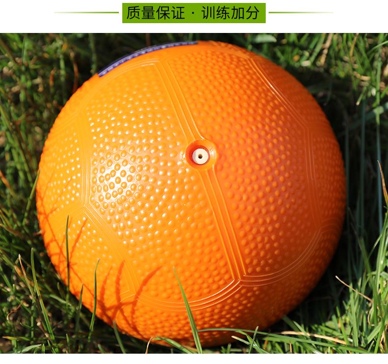 充气实心球中考专用男女学生标准体育考试公斤标准橡胶铅球详细照片