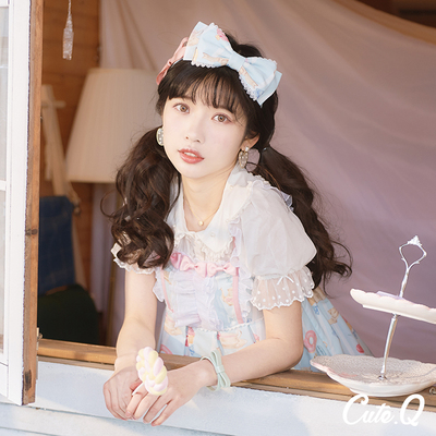 taobao agent 【The group has been intercepted】Cute.Q Macaron KC original CuteQ spring lolita small things new