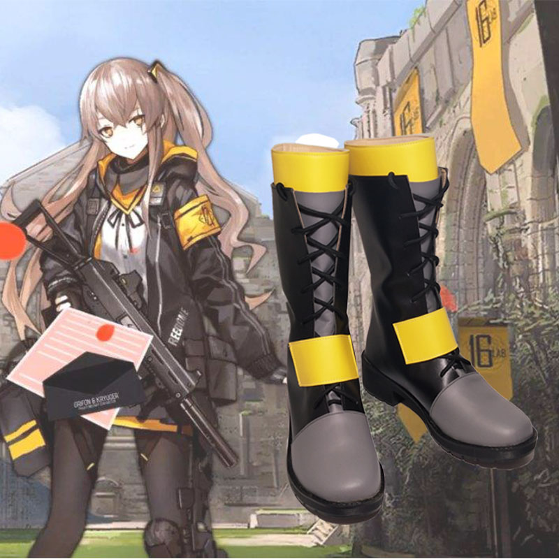 Girls Frontline Ump45 Cosplay Shoes Boots Cos Shoes