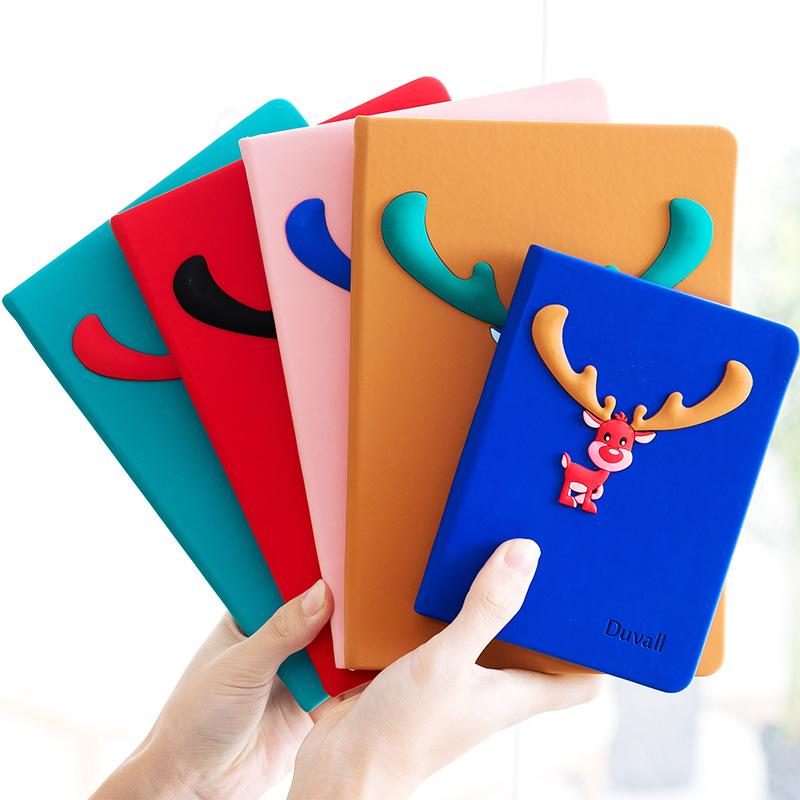 韩版创意女生小清新记事本笔记本_网红优惠券