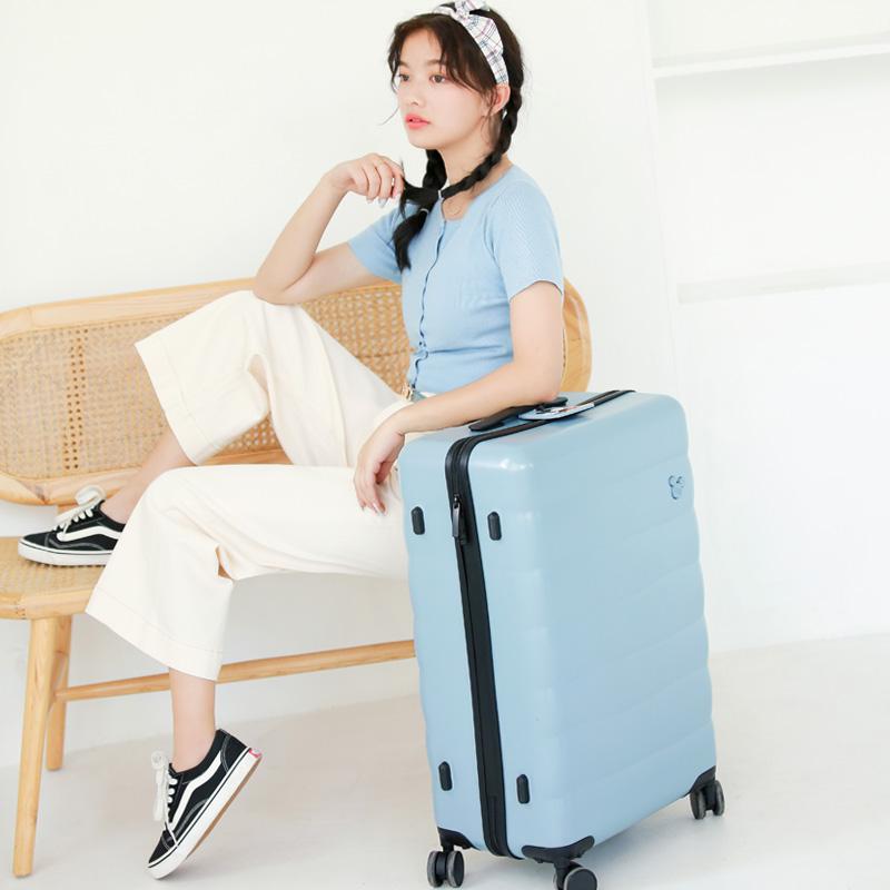 森马迪士尼联名行李箱女20寸旅行箱万向轮密码箱24拉杆箱网红ins