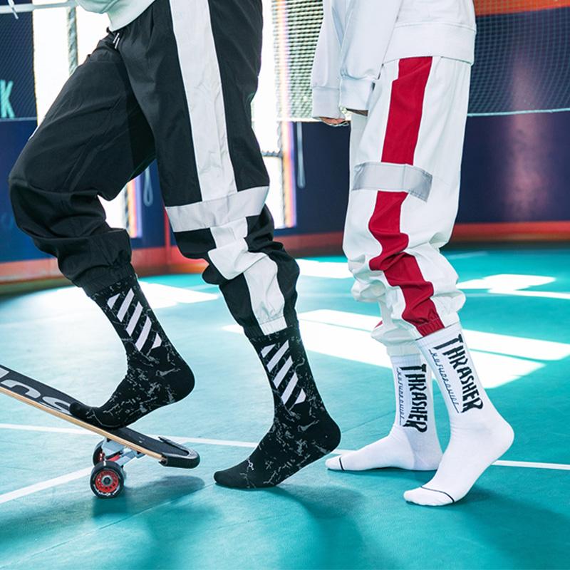 袜子男中筒袜长袜潮秋冬季男士ins潮流高帮潮牌长筒篮球袜女运动
