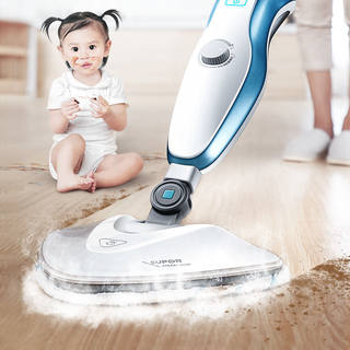 Supor steam mop household hand-held mopping machine multifunctional detachable high temperature sterilization cleaning scrubber