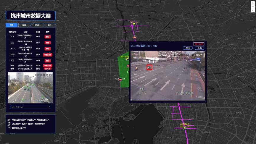阿里支持杭州城市大脑20秒发现交通事件