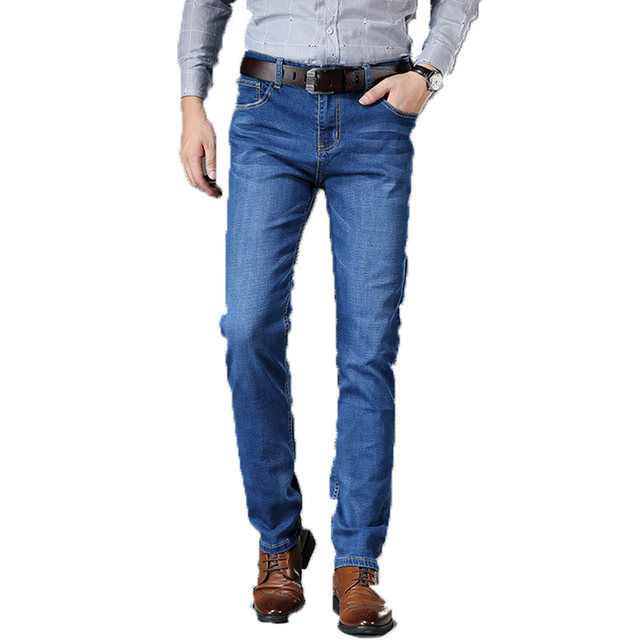 Woodpecker jeans men's autumn new stretch slim men's pants casual tide brand young men's straight trousers