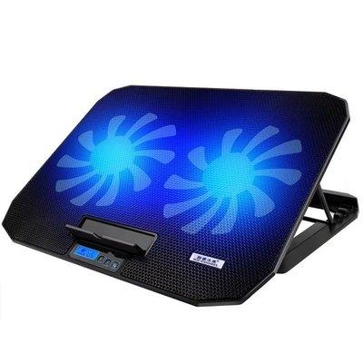 笔记本散热器14寸15.6寸游戏本手提电脑散热底座支架垫板静音风扇