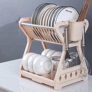 碗碟收纳架沥水碗架放碗筷碗盘碗柜收纳盒用品家用大全厨房置物架