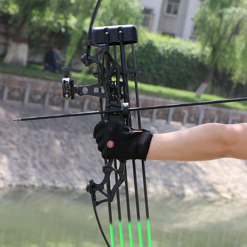 Straight pull bow hunting prohibited shooting archery sports alloy shooting  fish artifact accessories bird power compound bow
