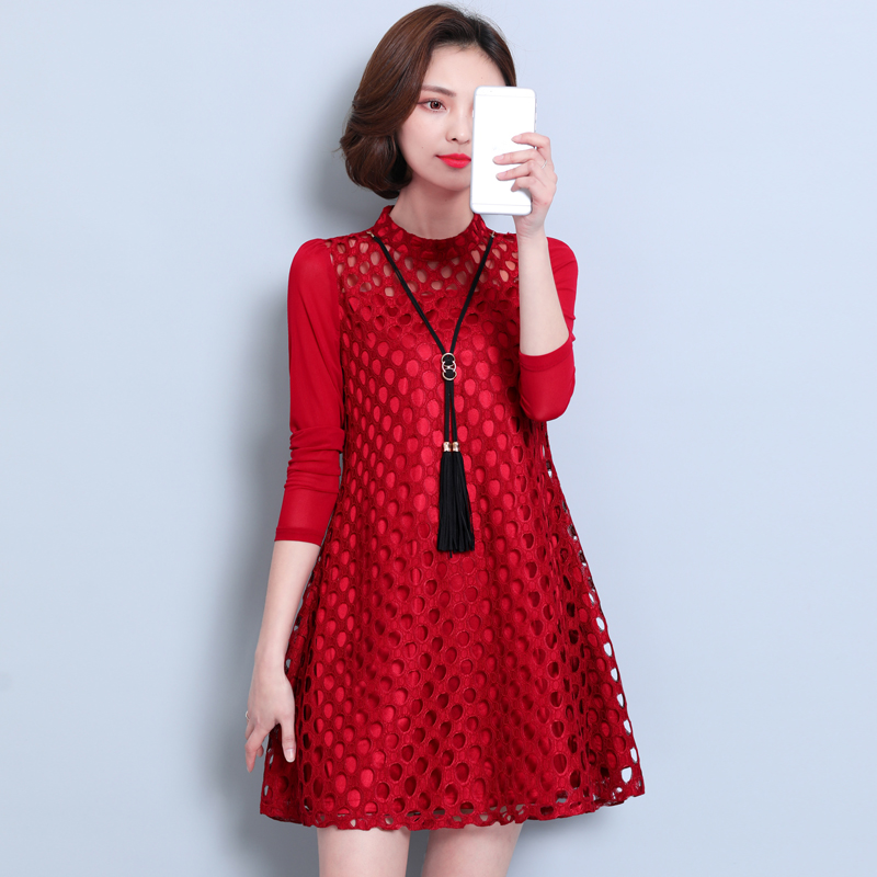 Usd 2956 2019 Spring New Large Womens Korean Loose Lace