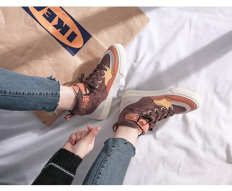 XCZJ 2019 autumn and winter new Martin boots female students Korean version of cotton shoes plus velvet women's shoes boots 27