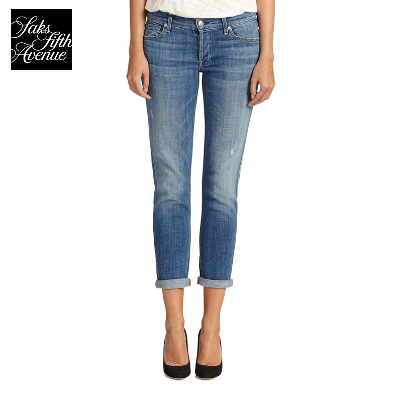 7 For All Mankind Josefina practicing moral culture boyfriend wind jeans