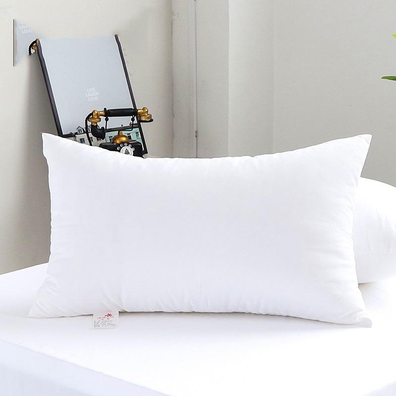 羽丝绒枕头枕芯正品单人一对成人男女学生睡眠四季五星级酒店枕头