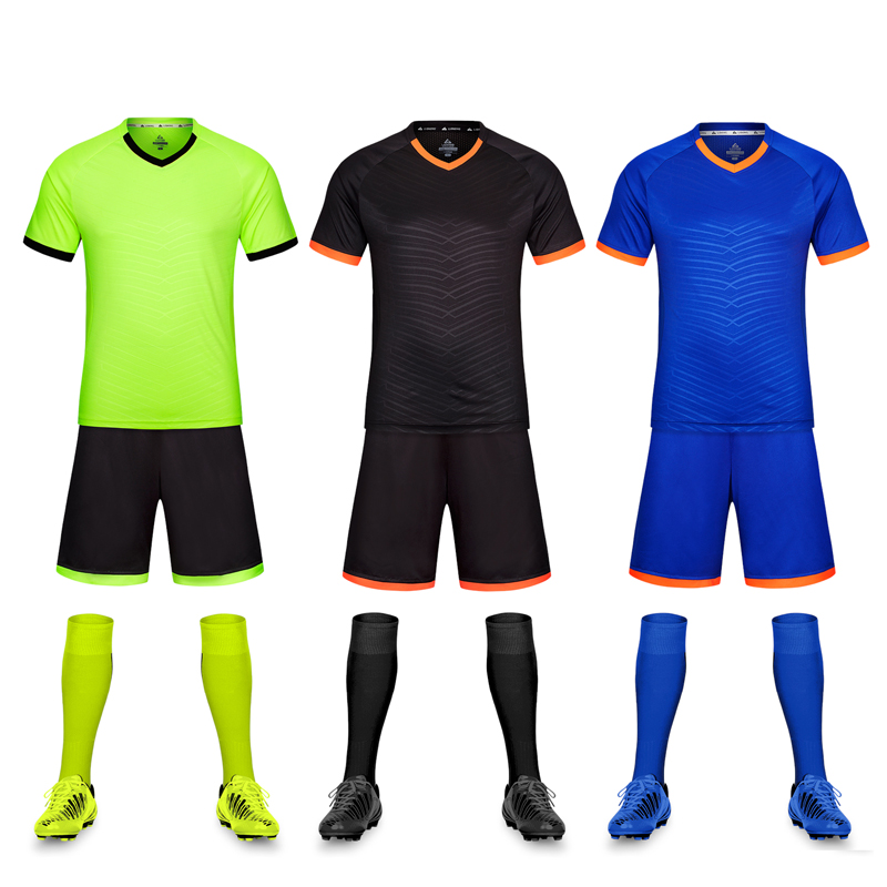 83e25011bca0 Custom team soccer uniforms men s quick-drying Jersey custom printed  printing personalized football training suits