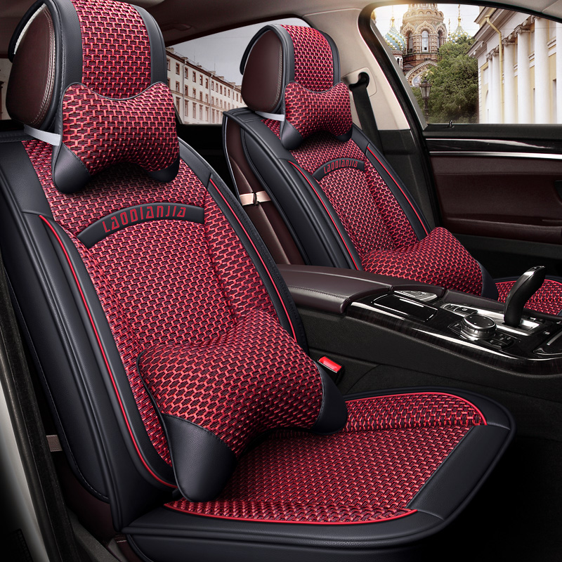 Geely New Imperial Ec718 715 Diamond Vision GX7 All Inclusive Summer Car Seat Cover Four