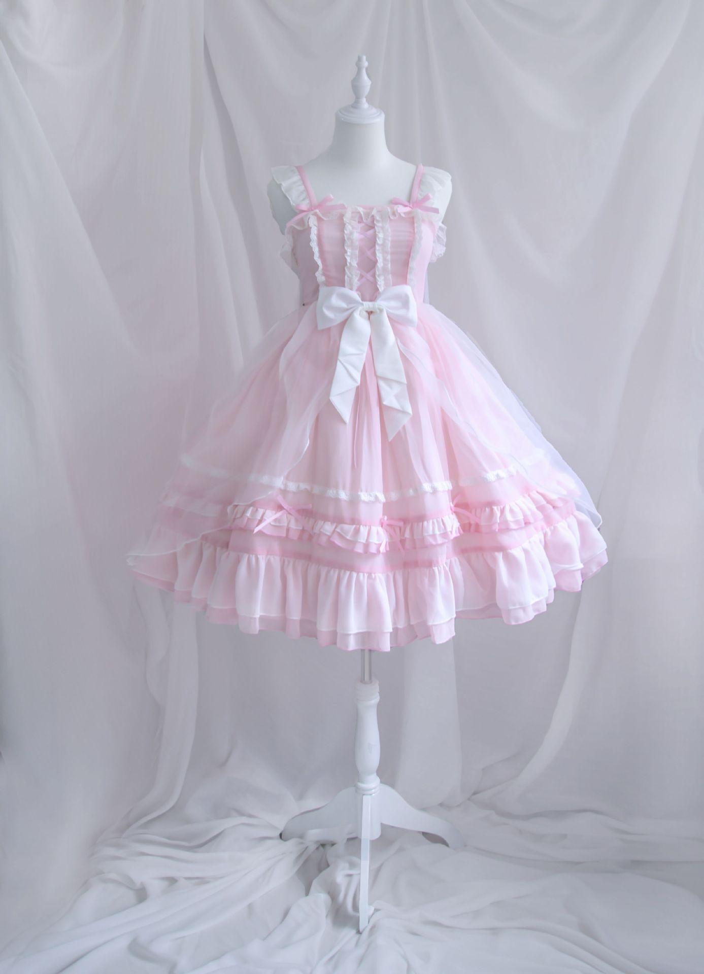 粉色JSK