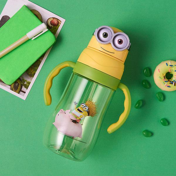 康酷 小黄人 3D立体吸管杯 540ml 天猫优惠券折后¥19.9包邮(¥49.9-30)2色可选