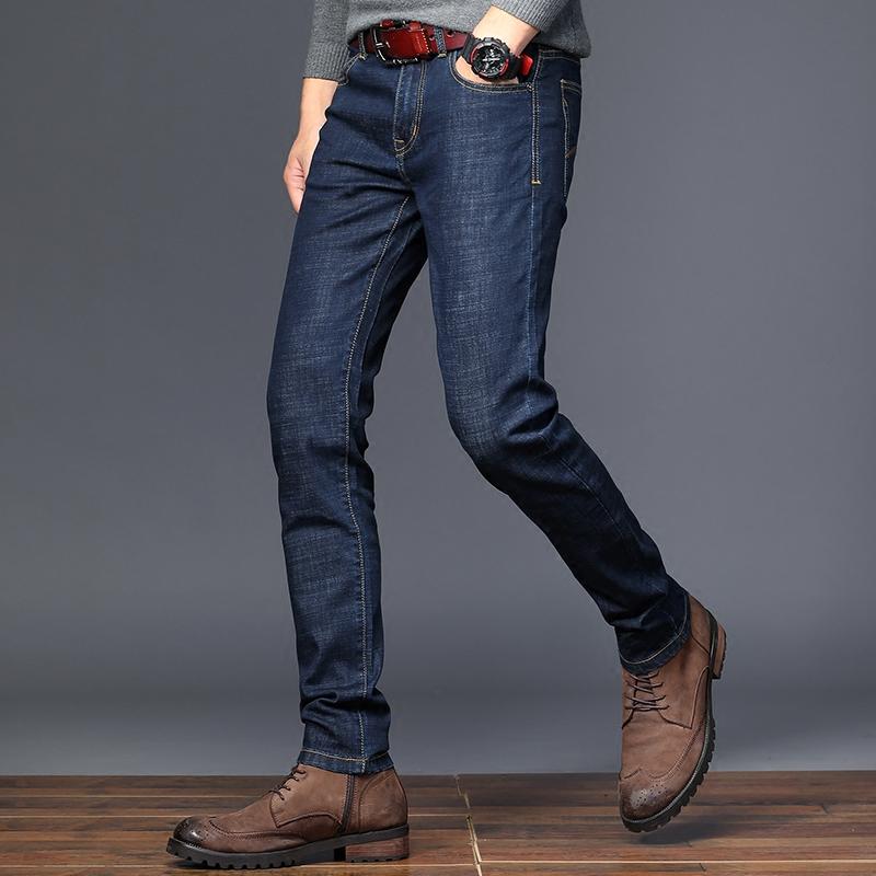 薄款青年韩版修身男士牛仔裤