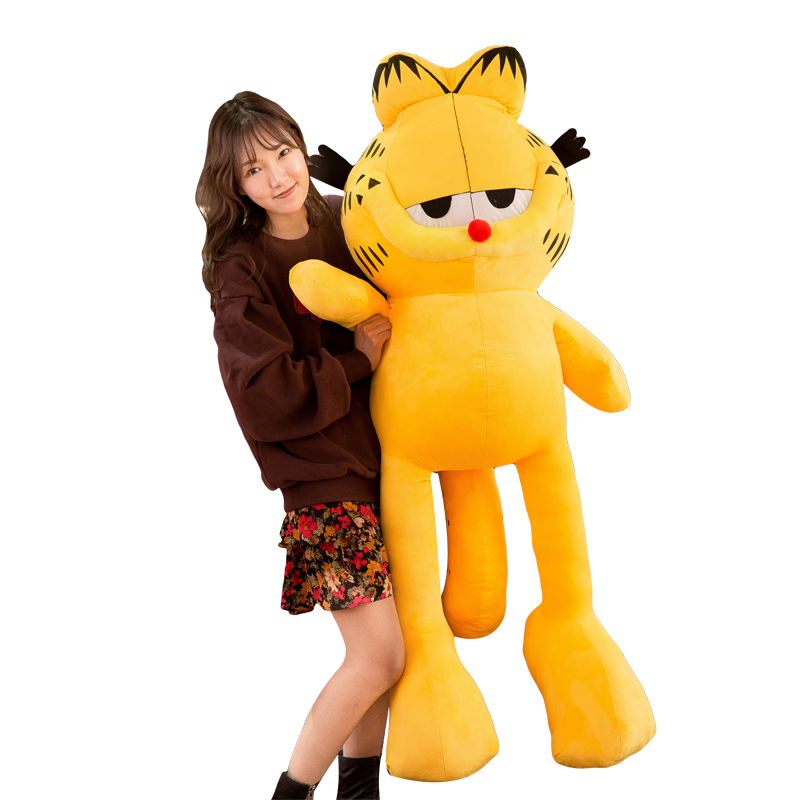 Garfield doll oversized plush toy girl holds pillow Valentine's Day romantic 18-year-old adult gift honey