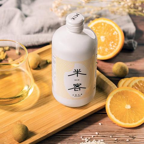 米客米酒 低度酒纯糯米酒水6度甜酒酿网红酒 桂花味米酒单瓶350ml