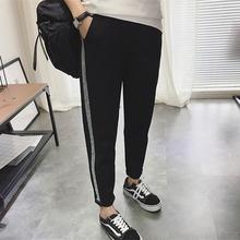 运动裤女九分哈伦裤宽松学生显瘦小脚裤