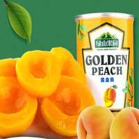 【天猫超市】绿山果园黄桃罐头425g*3券后16.6元包邮